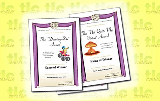 Award Certificates