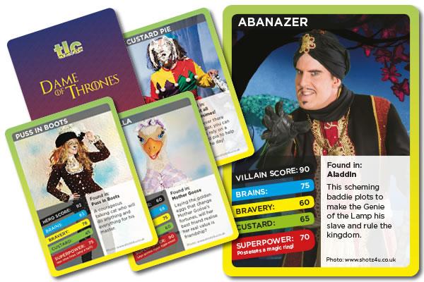 Pantomime trump cards