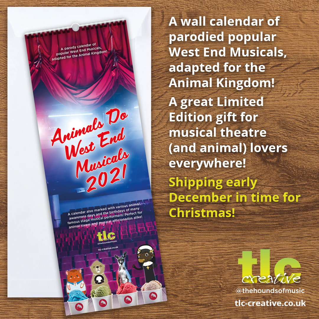 TLC Animal Musicals Calendar 2021 Teaser